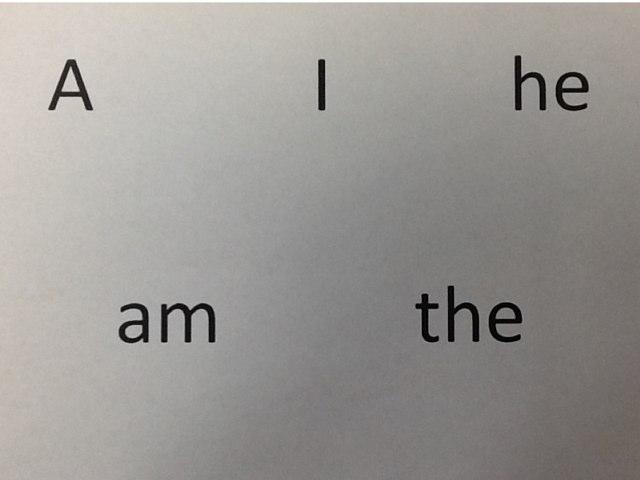 Kindergarten Sight Words by Diana Coyne