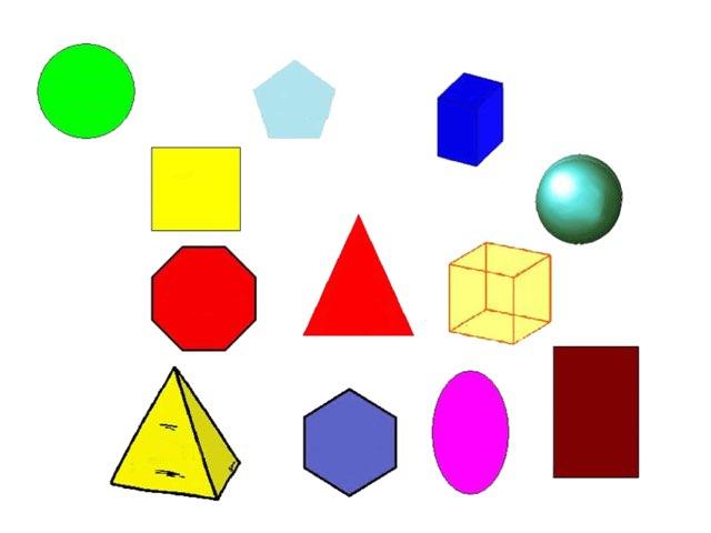 Kindergarten shapes by Timothy Teelin