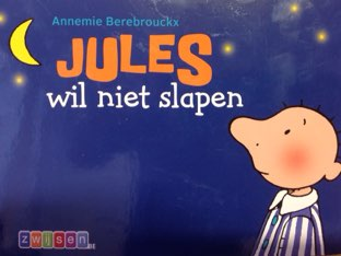 Klankbord Jules Wil Niet Slapen by Wilma DeVente
