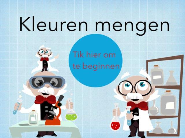 Kleuren Mengen by Milan De Clercq