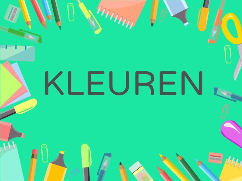 Kleuren herkennen by Giete heyligen