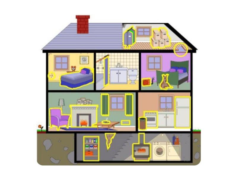 'Kom binnen': delen van een huis by Axelle Derycke
