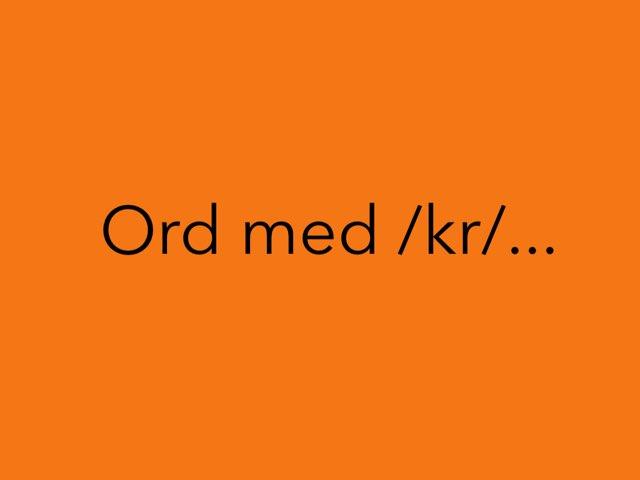 Kr Og Kj by Mie Jørgensen