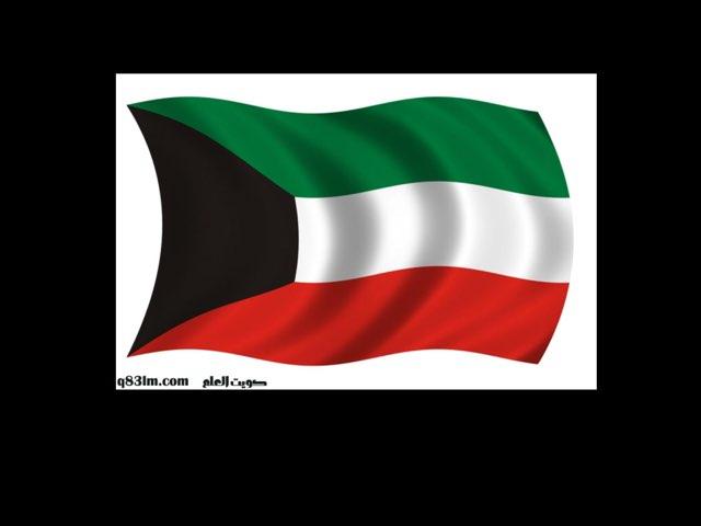 Kuwait Flag by Dalal alhunayyan