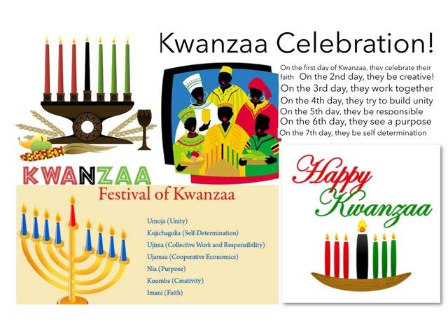 Kwanzaa Celebration by Kate Li