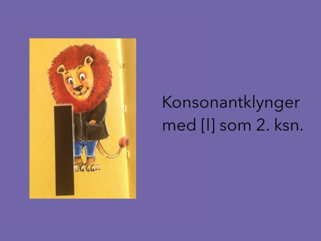 L som 2. konsonant by Dorte Eriksen