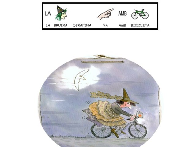 LA BRUIXA SERAFINA CATALA by Escola Arboc