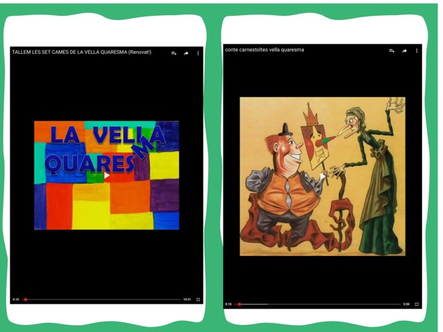 LA QUARESMA by Escola nadis-scs