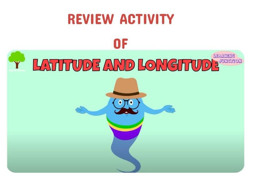 LAT & LONG GAME by Craig Crichlow