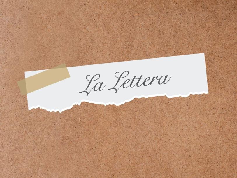 LA LETTERA by Primaria Interattiva