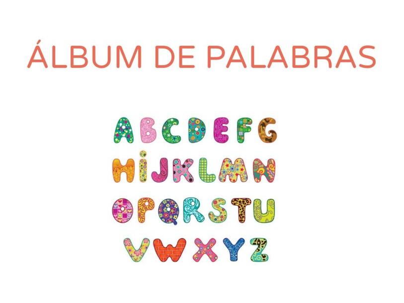 ÁLBUM DE PALABRAS by Tatiana Santana