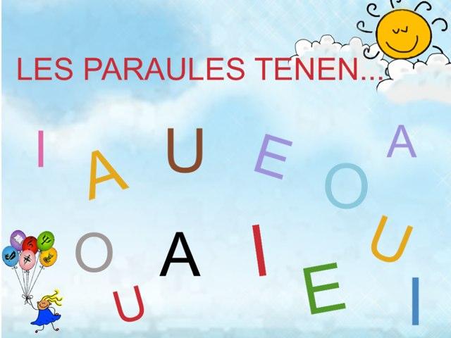 LES PARAULES TENEN... by Nuria Comellas