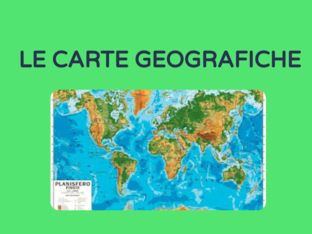 LE CARTE GEOGRAFICHE by Rosa Magrì