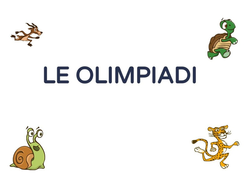 LE OLIMPIADI by Rosa Magrì