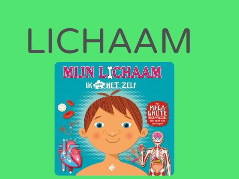 LICHAAM_Derde kleuterklas woordenschat zorg  by Sarah Van Hove