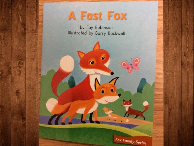 LLI 33 A Fast Fox by Gabrielle Allen
