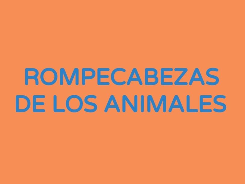 LOS ANIMALES by José López