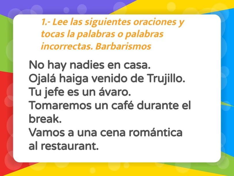 LOS VICIOS DEL LENGUAJ by Charlie Aldeen Norman