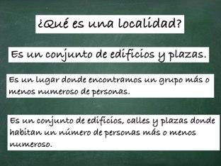 La Localidad  by Rocío Gómez