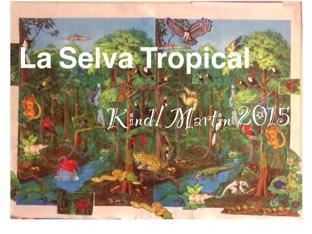 La Selva Tropical - Kind/Martin 2015 by Caitlin  Smith
