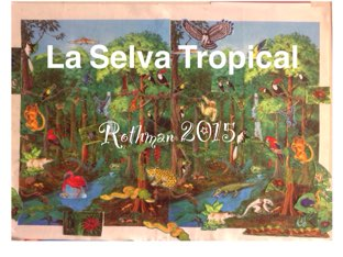 La Selva Tropical - Rothman 2015 by Caitlin  Smith