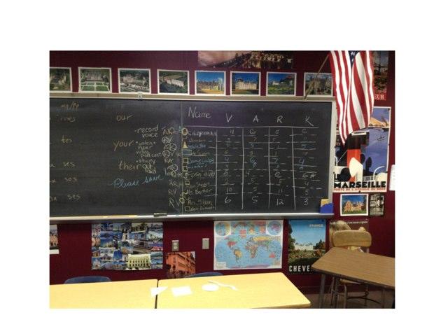 La salle de classe by Melanie Barker