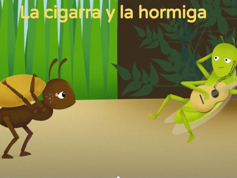La cigarra y la hormiga by Carlos Achucarro
