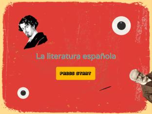 La literatura española by Roberto Domínguez