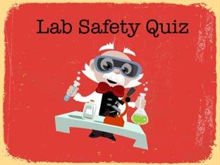 Lab Safety by Elizabeth strange