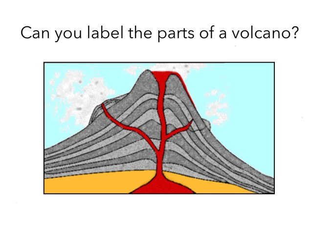 Label The Volcano by Year3 Stptrs