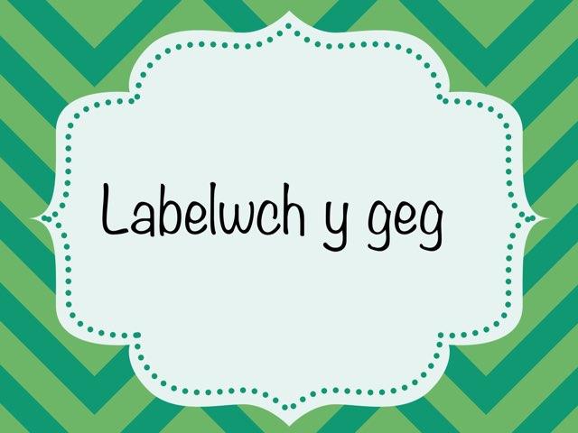 Labeli ceg 1 by Heledd Hurd