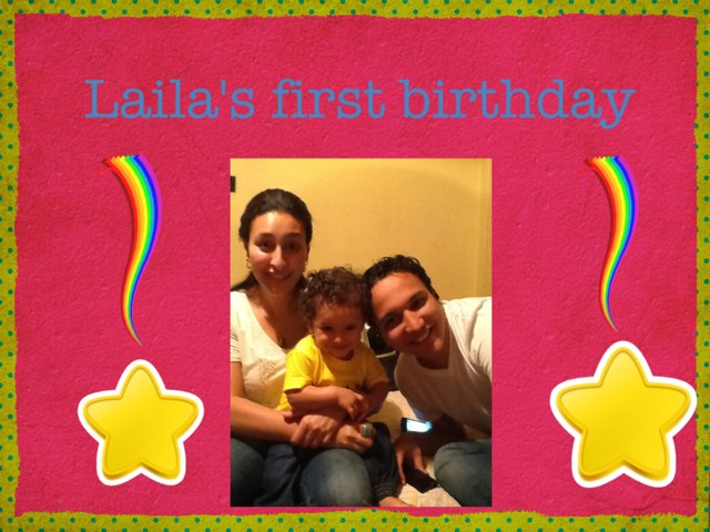 Laila's First Birthday by Mansour Baby