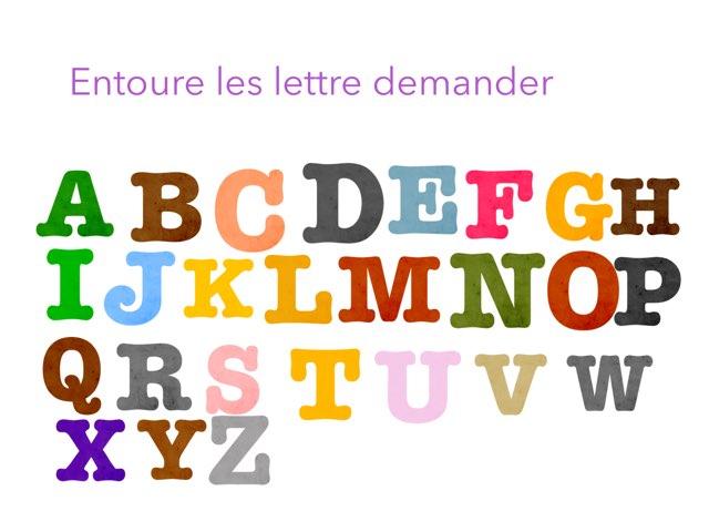 L'alphabet by Sevette Fabienne