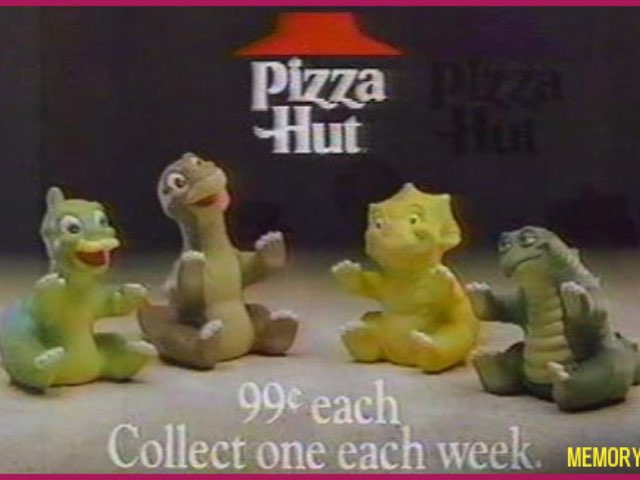 Land Before Time Pizza Hut Commercials by George awrahim
