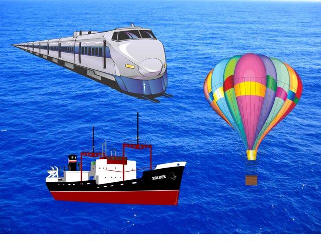 Land Sea Air Transport  by Madonna Nilsen
