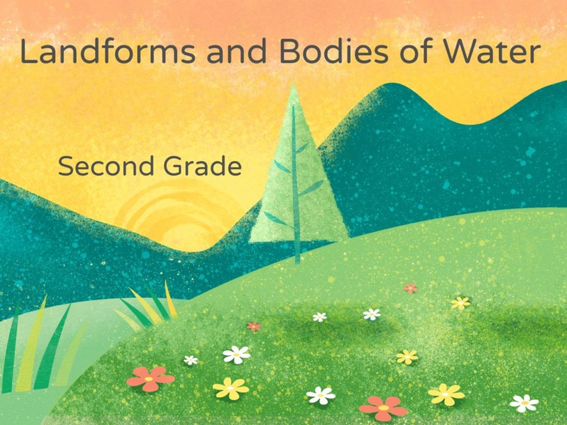 Landforms and bodies of water (final copy) by Kristen Heusinger