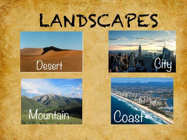 Landscapes by Macarena Merino Martín