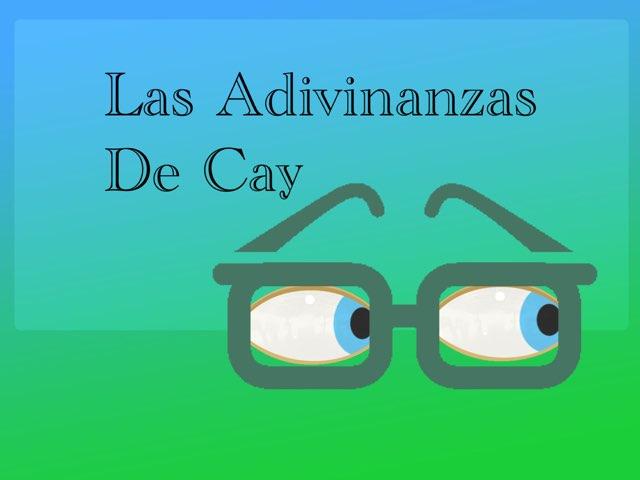 Las Adivinanzas De Cay by Diego Campos