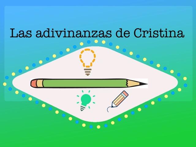 Las Adivinanzas De Cristina by Diego Campos