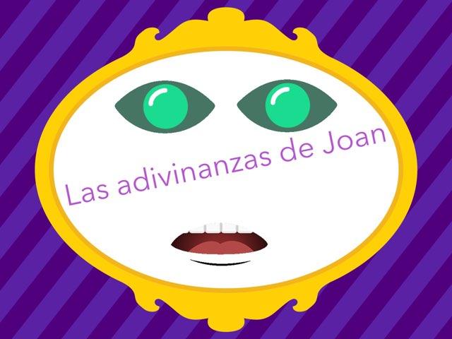 Las Adivinanzas De Joan by Diego Campos
