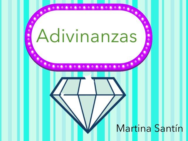 Las Adivinanzas De Martina S by Diego Campos
