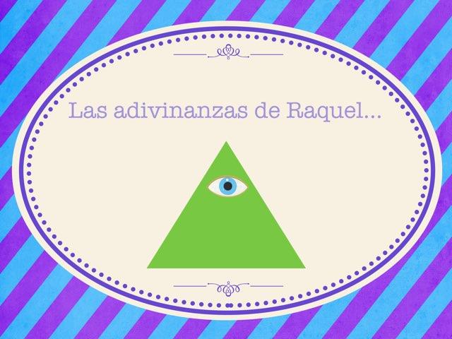 Las Adivinanzas De Raquel  by Diego Campos