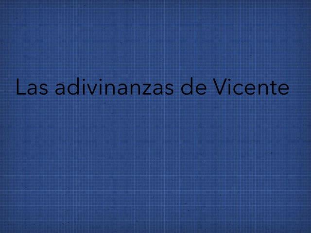 Las Adivinanzas de Vicente by Diego Campos
