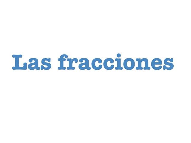 Las Fracciones by Pablo Hoyo