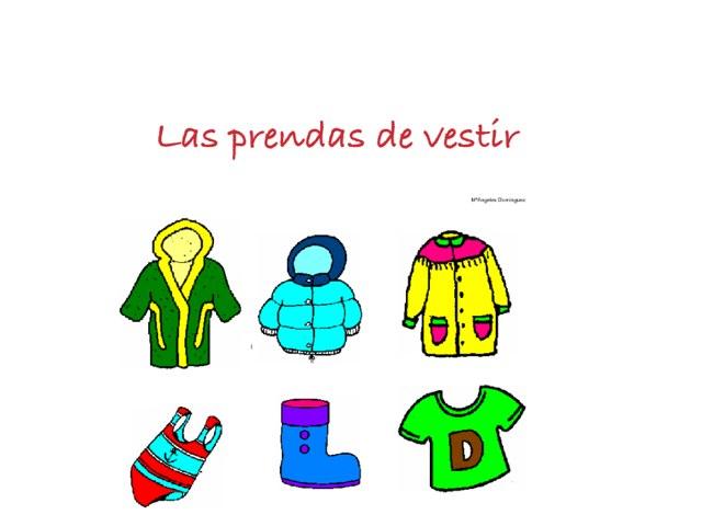 Las Prendas De Vestir by Inma Martinez