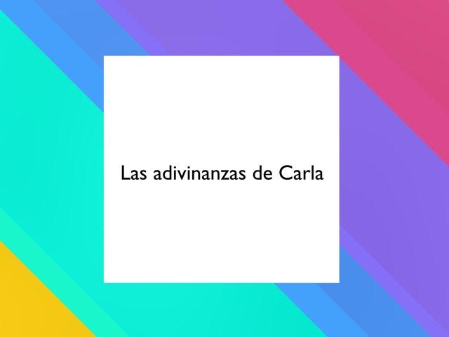 Las adivinanzas De Carla by Diego Campos