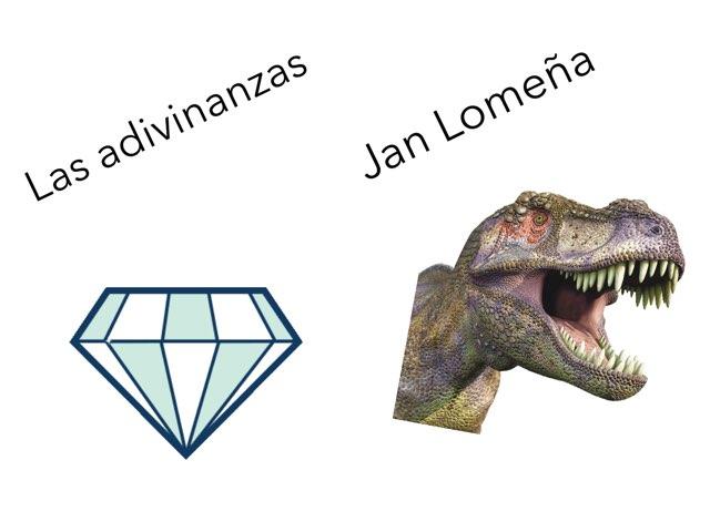 Las adivinanzas de Jan  by Diego Campos