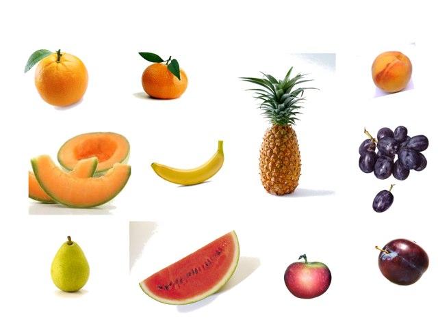 Las frutas by Mariela Triana