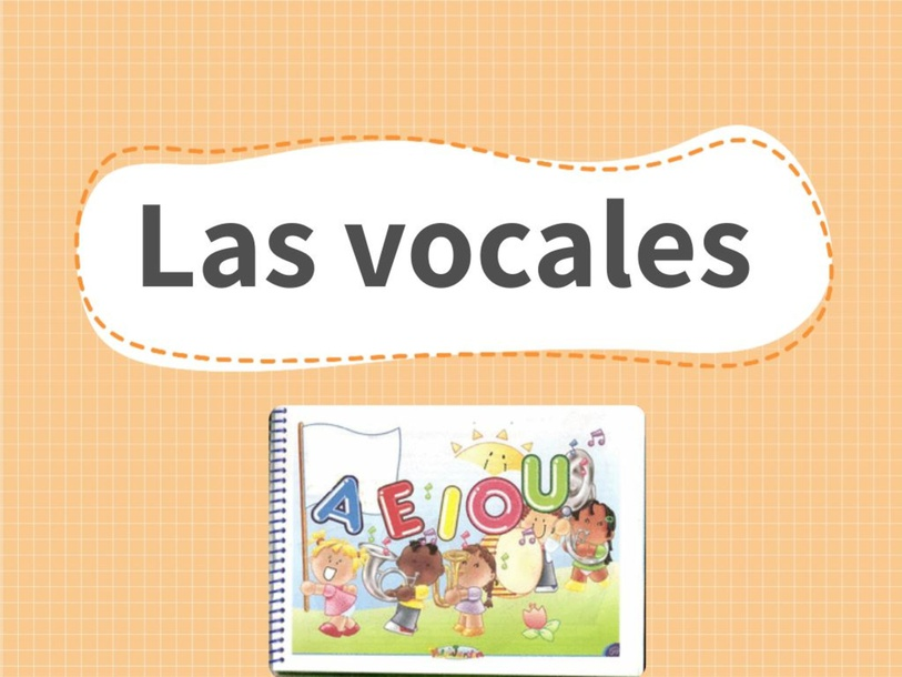 Las vocales  by Claudia Montero Almonacin
