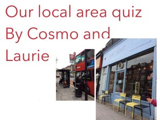 Laurie And Cosmos Cool Quiz! by Fiona Crean